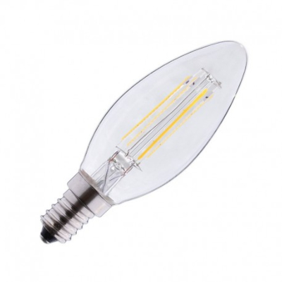 Ampoule LED filament E14 flamme