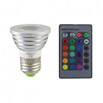 Ampoule LED E27 RGB