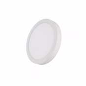 Downlight saillie rond blanc