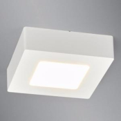Downlight saillie carré blanc