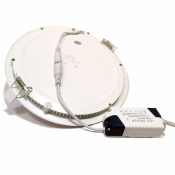 Downlight rond blanc