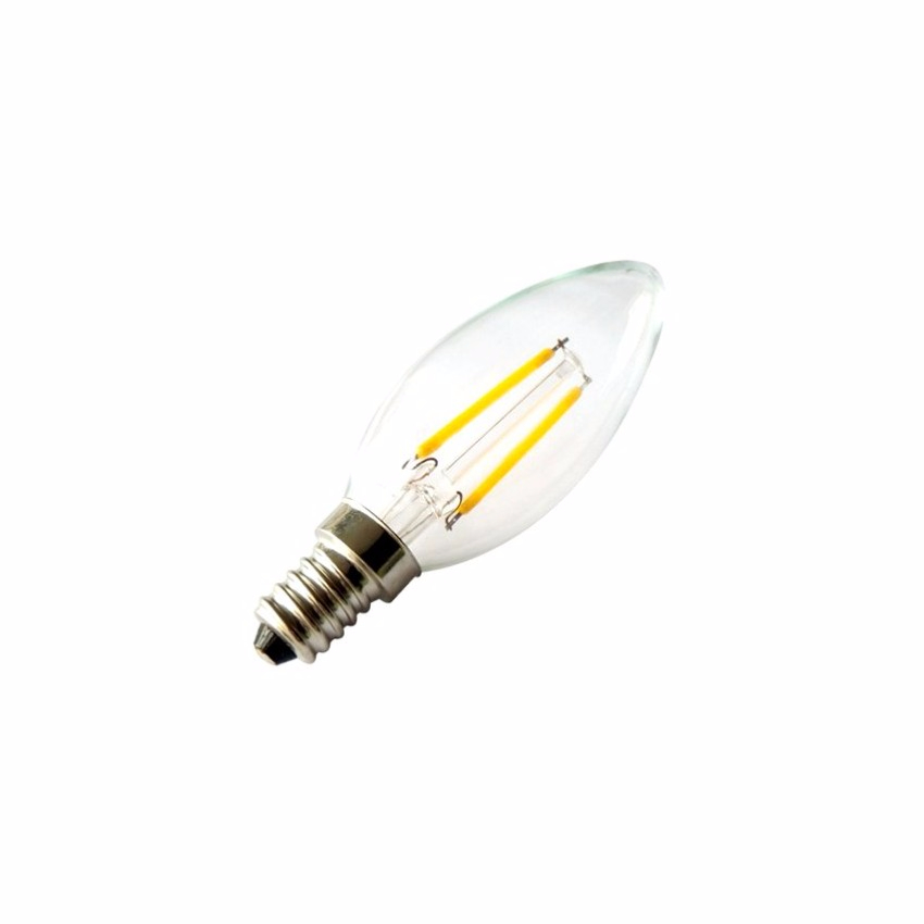 ampoule led filament c35 2w e14. Black Bedroom Furniture Sets. Home Design Ideas